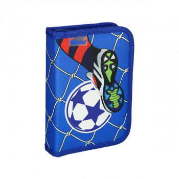 Pencil case 3D ''Football Goal'', 1-Zipper, 28-pcs