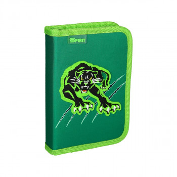 Pencil case ''PANTHER'', 1-Zipper, 28-pcs