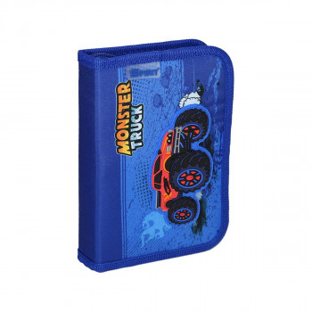 Pencil case 3D ''Monster Truck'', 1 zipper