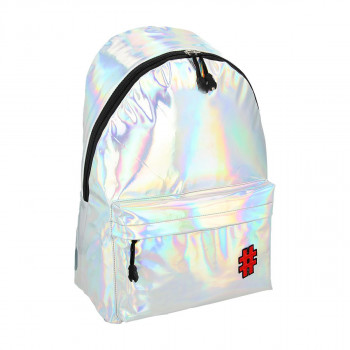 Backpack ''METALLIC SILVER''