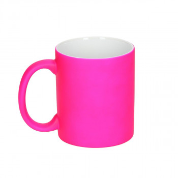 Ceramic Cup ''Neon Pink''