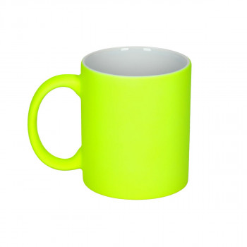 Ceramic Cup ''Neon Yellow''