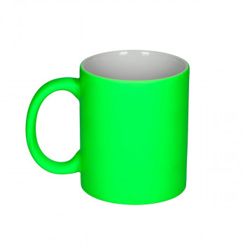 Ceramic Cup ''Neon Green''