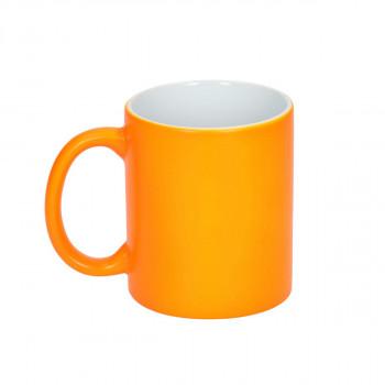 Ceramic Cup ''Neon Orange''