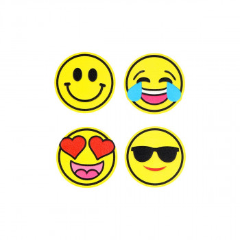 Sticker ''SMILES'' Patch Me, 4/1 (Blister)