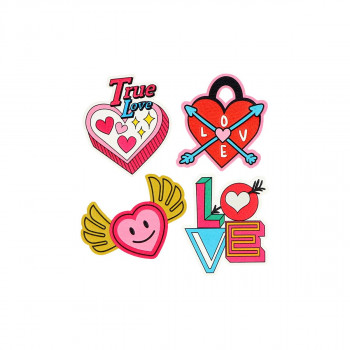 Sticker ''TRUE LOVE'' Patch Me, 4pcs blistercard