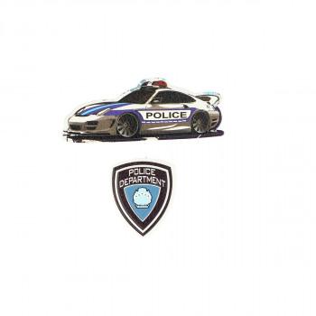 Stiker ''POLICE'' Patch Me, 2/1 (Blister)