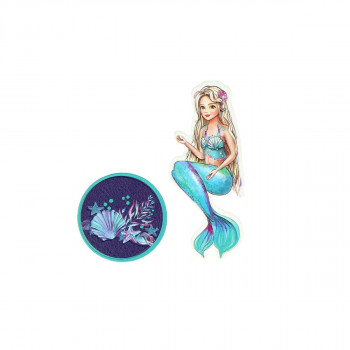 Sticker ''MERMAID'' Patch Me, 2pcs blistercard