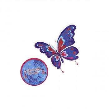 Stiker ''BUTTERFLY'', 2/1
