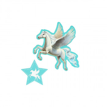 Sticker ''UNICORN'' Patch Me, 2pcs blistercard