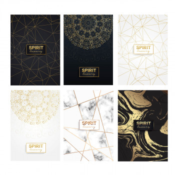 Notebook Premium A4 ''Luxury'', soft covers, 52 sheets, squares