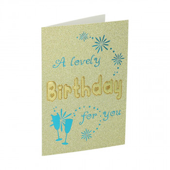 3D Greeting card ''Birthday 23''