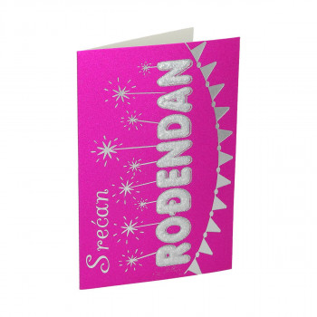 3D Greeting card ''Birthday 30''