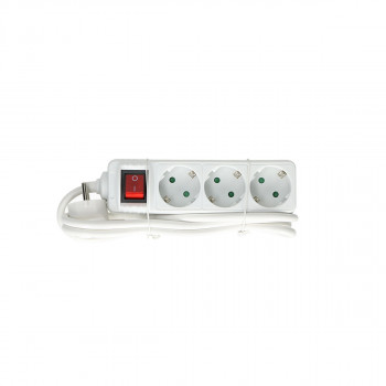 Exstension Cord 3-Socket, 1.5m