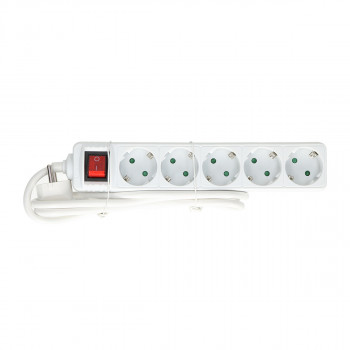 Exstension Cord 5-Socket, 5m