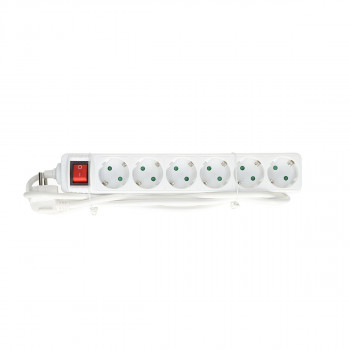 Exstension Cord 6-Socket, 3m