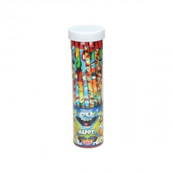 Drvena olovka ''HAPPY'' 24/1 PVC Tuba