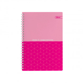 Exercise Book Hardcover A5 Squared Neon