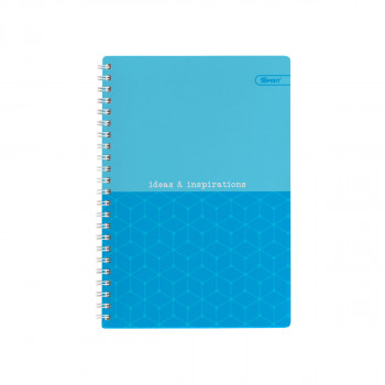 Exercise Book Hardcover A5 Lines Neon