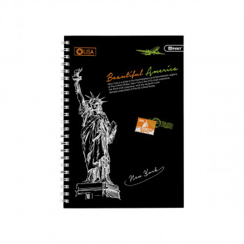 Exercise Book '' Metropolis New York'' A5 Soft Cover, Lines