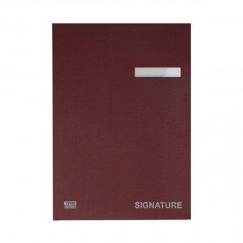 Signature Book Cardboard MS20, 240 x 322mm