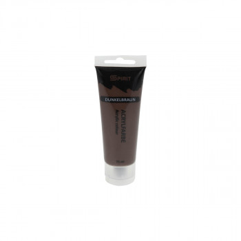 Acrylic paint 75ml, Brown