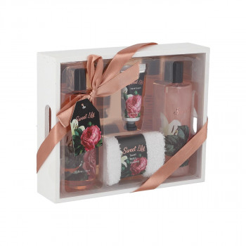 Spa set Sweet Lilly ( Rose&White Lilly )