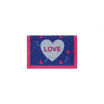 Kids wallet ''LOVE HEART''