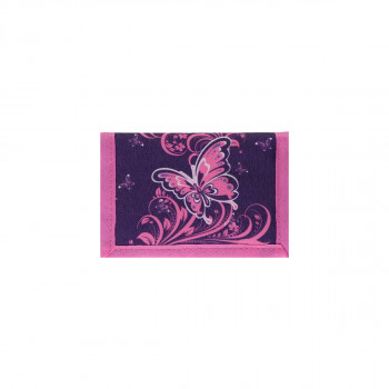 Kids wallet ''BUTTERFLY PURPLE''