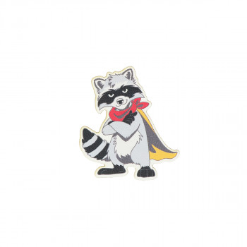 Sticker ''Raccoon'' Patch Me 4/1