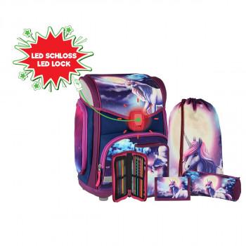School bag set ''BE MAGICAL'' MAXX 5-Pcs (LED buckle)