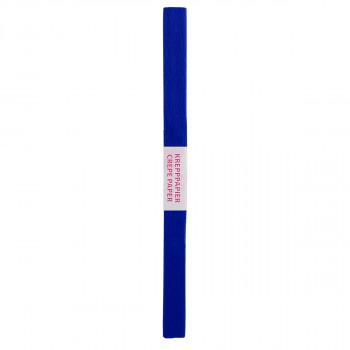 Krep papir 200 x 50cm 1/1, Tamno plava