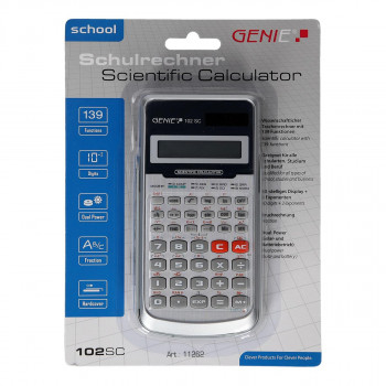 Mathematical calculator ''102 SC''