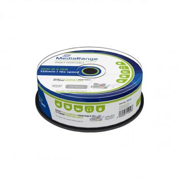 DVD-R 25/1 16x44.7GB Printabilni