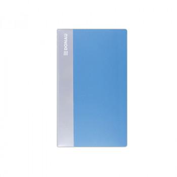 Visitenkartenbuch 120 Karten Blau