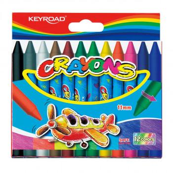Wax crayons, 11mm