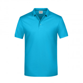 Majica Polo Basic Tirkizna L