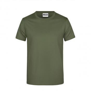 Majica Basic Maslinasta XL