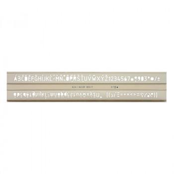 Šablon za pisanje, 7mm