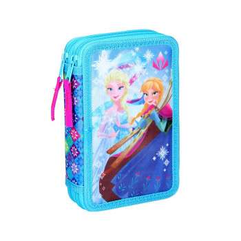 Empty pencil case ''FROZEN'', 2 zipper