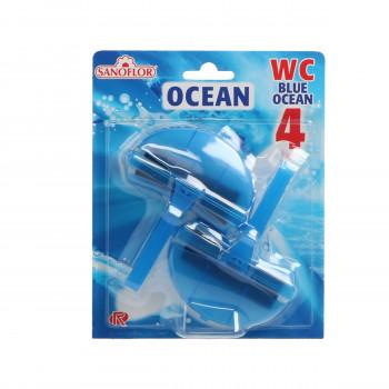 Toilet freshener Sanoflor Ocean Blue 2/1