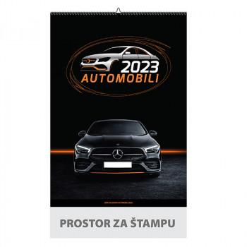 Zidni kalendar ''Automobili'', 6+1, B3