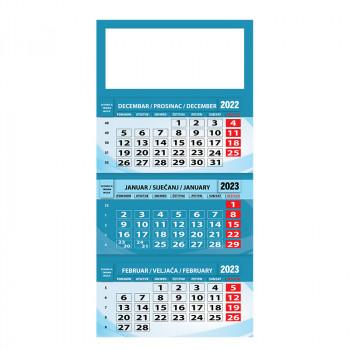 Kalendar ''Poslovni'', trodelni