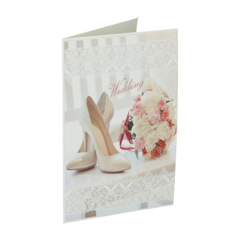 Greeting card 3D ''Wedding day 11''