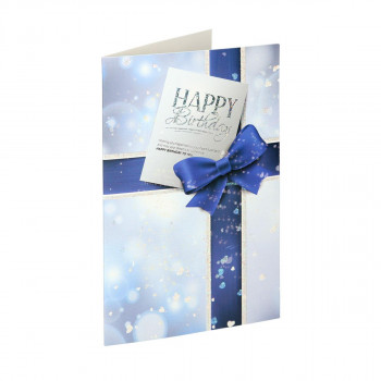 Greeting card 3D ''Happy Birthday 08''