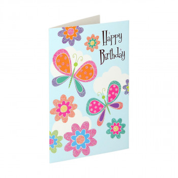 Greeting card 3D ''Happy birthday 09''