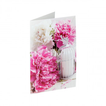 Greeting card ''Classic Flower 03''