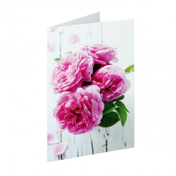 Greeting card ''Classic Flower 04''