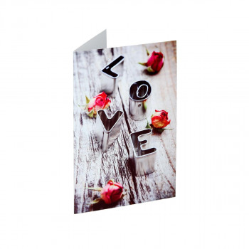 Greeting card ''Classic Love''