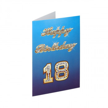 Greeting card ''18th Birthday